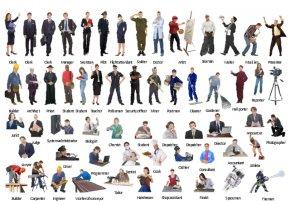 Professions Cliparts - Professional Job Clip Art PNG