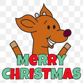 Reindeer - Reindeer Elf Computer Snout Clip Art PNG