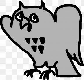 Owl Cartoon - Ringer T-shirt Clip Art PNG