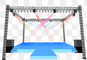 Stage Lights Shine - Stage Lighting Computer File PNG