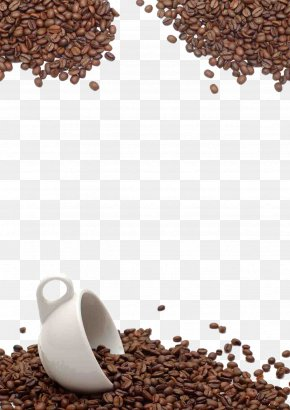 Coffee Beans Background - Coffee Bean Tea Cafe Chocolate Milk PNG