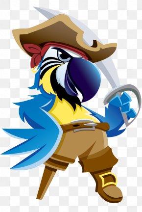 Pirate Parrot Photos - Pirate Parrot Piracy Cartoon PNG