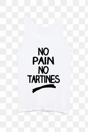T-shirt - T-shirt Sleeveless Shirt Collar Butterbrot PNG