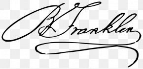 United States Declaration Of Independence - United States Declaration Of Independence Benjamin Franklin House The Autobiography Of Benjamin Franklin Signature PNG
