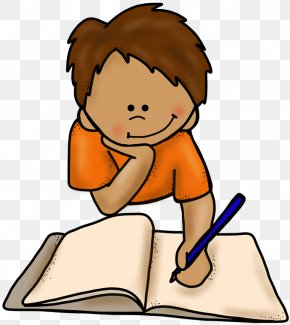 Animated Writing Cliparts - Writing Book Clip Art PNG