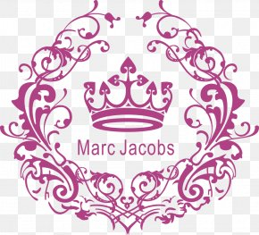 Vector Pattern And Crown Wedding Logo - Adobe Illustrator PNG