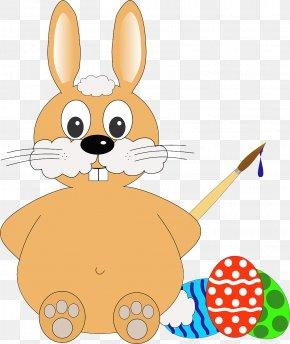 Easter - Easter Bunny Easter Egg Rabbit Clip Art PNG