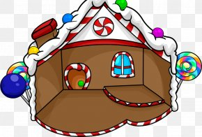 Igloo Pictures - Club Penguin Igloo Gingerbread House Clip Art PNG
