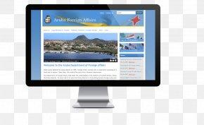 Aruba - Display Device Computer Monitors News Media Khon Kaen Smile Dental Clinic PNG