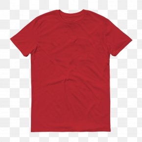 Printed T Shirt Red - T-shirt Hoodie Sleeve Uniqlo PNG