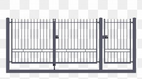 Wrought Iron Gate - Gate Wrought Iron Door Galvanization PNG
