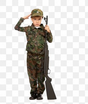 Little Soldier Of Salute! - Soldier Stock Photography Royalty-free Military PNG