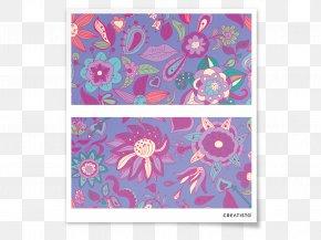 Flower Pattern - Paisley Flower Petal Floral Design Pattern PNG