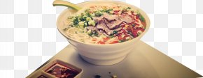 The Beef Noodles On The Table Legs - Beef Noodle Soup Lanzhou Pot Roast PNG