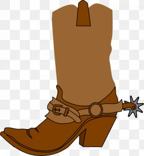 Western Boot Cliparts - Cowboy Boot Cowboy Hat Clip Art PNG