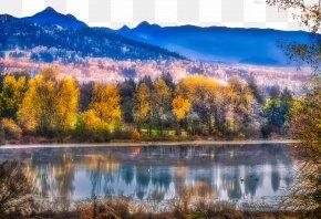 Deer Lake Late Autumn - Deer Lake Autumn PNG