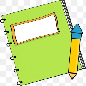 Notebook Transparent Cliparts - Paper Notebook Pencil Clip Art PNG