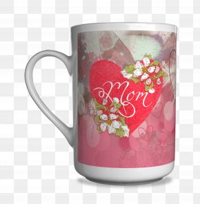 Mother 's Day Carnations - Coffee Cup Mug Personalization Printing PNG