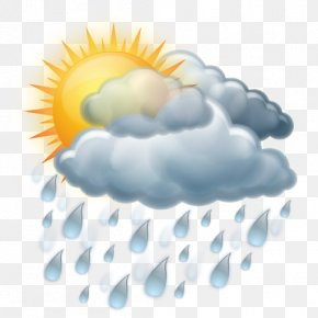 Cloudy - Weather Rain PNG