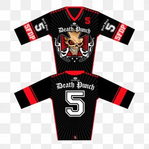 T-shirt - T-shirt Five Finger Death Punch Sports Fan Jersey Boots And Blood PNG