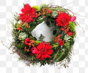 Wreath Wedding - Wreath Floristry Flower Floral Design Christmas PNG
