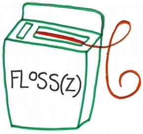 Floss Cliparts - Dental Floss Clip Art PNG
