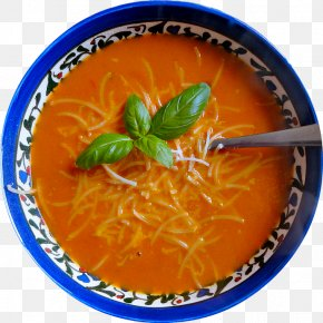 Tomato Soup - Tomato Soup Vegetarian Cuisine Food Dish PNG