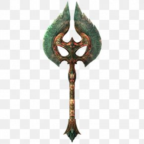 Axe - The Elder Scrolls V: Skyrim – Dragonborn Battle Axe Hatchet Weapon PNG