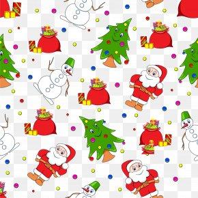 Christmas - IPhone 8 Santa Claus Christmas Tree Gift PNG