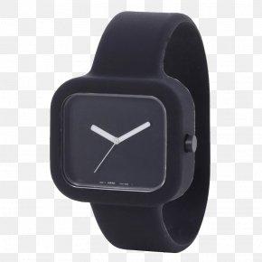 Watch - Watch Muji Clock Tissot Strap PNG