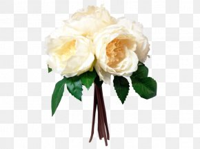 White Peony Bark - Garden Roses Flower Bouquet Peony Floral Design PNG