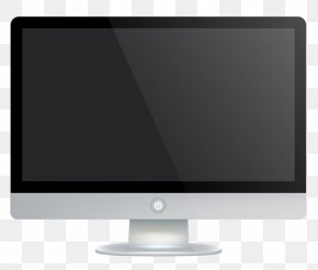 Hand Drawn Computer - Television Set Computer Monitor Flat Panel Display Output Device PNG