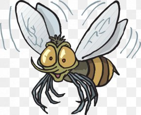 Fly Cliparts - Bee Insect Bites And Stings Marsh Mosquitoes Clip Art PNG