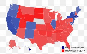 Arcgis Map - United States Of America Election Republican Party United States Senate Democratic Party PNG