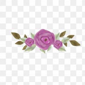 Garden Roses Clip Art Borders And Frames Image PicsArt Photo Studio PNG
