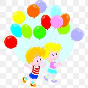 Balloon Cartoon Child Creative - Child Toy Balloon Photography Illustration PNG