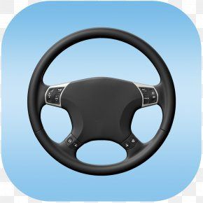 Steering Wheel - Car Motor Vehicle Steering Wheels Volkswagen Golf Ship's Wheel PNG