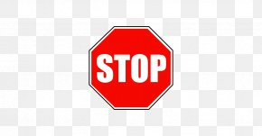 Sign Stop - Stop Sign Royalty-free Illustration PNG
