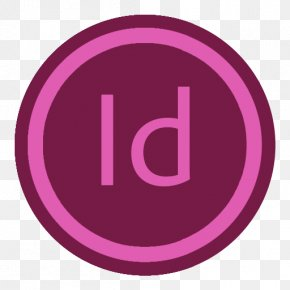 App Adobe Indesign - Pink Purple Brand Symbol PNG