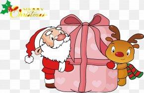 Santa Claus Cartoon Vector Files - Santa Claus Christmas Tree PNG