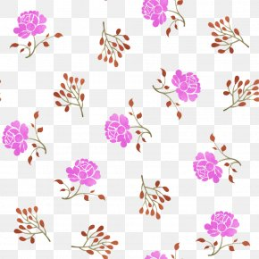 Floral Shading - Floral Design Watercolor Painting Clip Art PNG