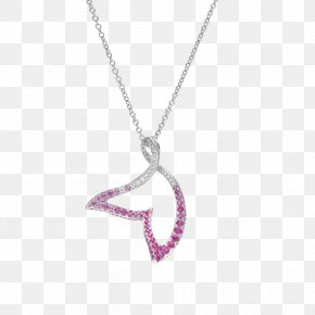 Mermaid Tail - Charms & Pendants Jewellery Necklace Earring Sapphire PNG