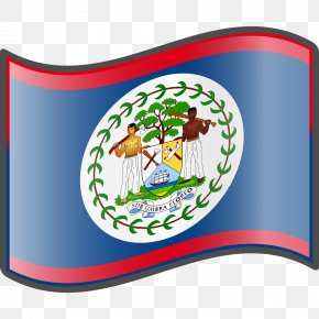 Flag - Flag Of Belize National Flag Land Of The Free PNG