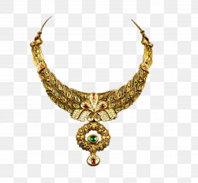 Jewelry - Jewellery Necklace Estate Jewelry Gold PNG
