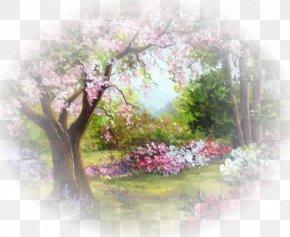 Sanya Landscape - Painting Image Thomas Kinkade Painter Of Light Address Book Mural PNG