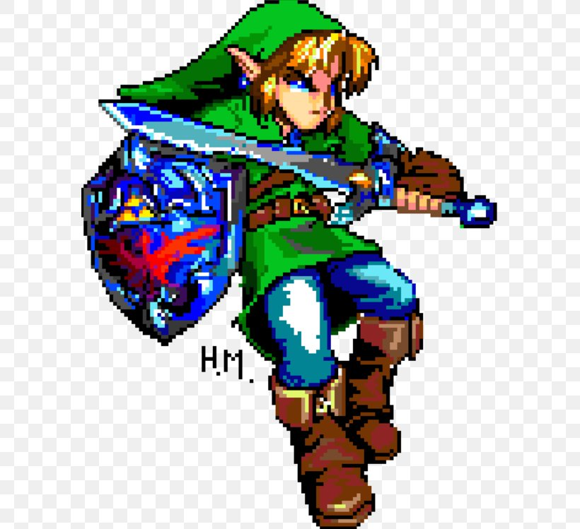 Link Pixel Art Sprite Png 590x749px Link Art Embroidery