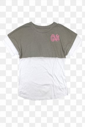 T-shirt - T-shirt Sleeve White Top Neck PNG