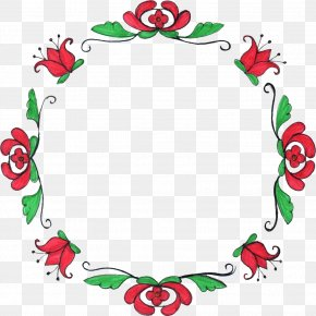 Circle Flower - Flower Drawing Circle Clip Art PNG