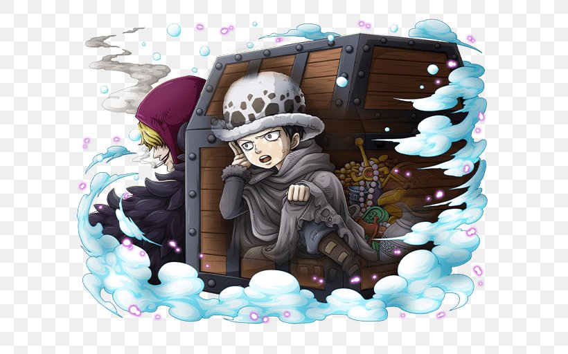 Trafalgar D. Water Law Monkey D. Luffy One Piece Treasure Cruise Donquixote Doflamingo, PNG, 640x512px, Trafalgar D Water Law, Cake, Donquixote Doflamingo, Flevance, Monkey D Luffy Download Free