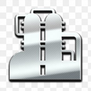 Symbol Steel - Factory Icon PNG